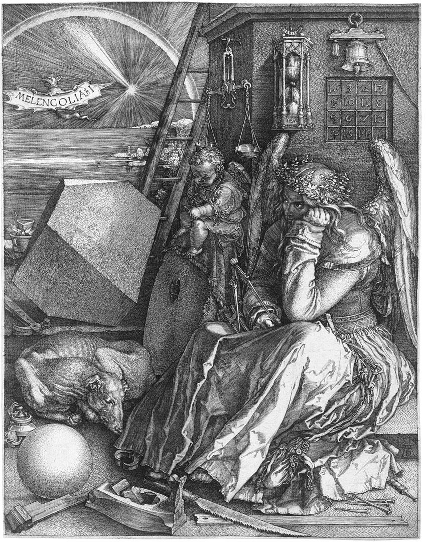 «Меланхолия» Дюрера – одна из самых известных в мире гравюр